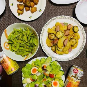 今日の夕食 ジャーマンポテト