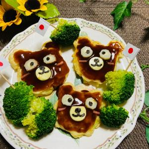 今日のお昼 お好み焼き
