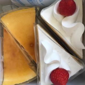 今日のおやつ  不二家ケーキ  来月からのキャンペーン
