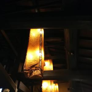 和風な灯り
