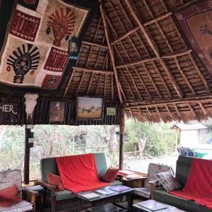 ケニア Simba Masai Campに宿泊