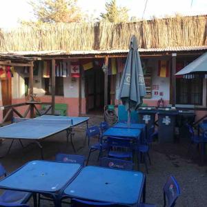 アタカマのドミトリー hostel pangea シャワー熱々!