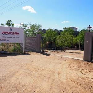 【インド・ハイデラバード】ヴィパッサナー瞑想センターへ