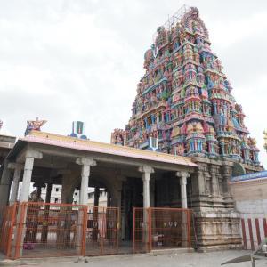 【インド】エーカンバラナータル寺院に行くつもりが入れない!?