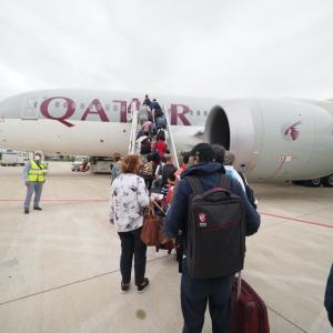 【タンザニア>日本】チャーター便による日本への帰国