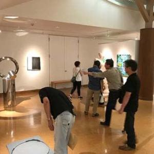 「人とアートの無限の繋がり1+1+1・・・展」終了。。
