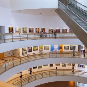気軽に行けるバンコクの美術館bacc (Bangkok Art and Culture Centre)
