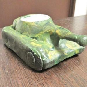 工作 戦車のキャンドル