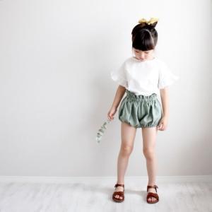 Frill sleeve blouse × Linen bloomer 🌿◯miit ONLINE...