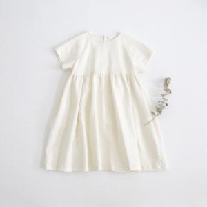 . Linen raglan sleeve dress...