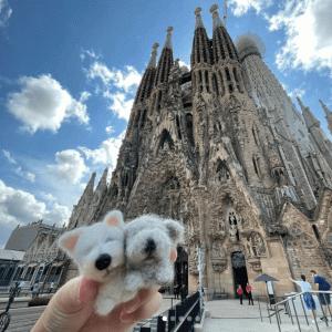 【海外旅行記】スペイン、バルセロナはアートの街!街中がアート作品!