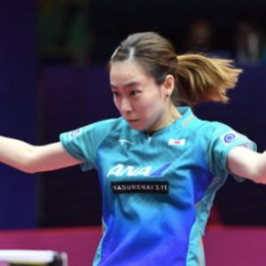 卓球女子ワールドカップ 石川佳純が準々決勝敗退
