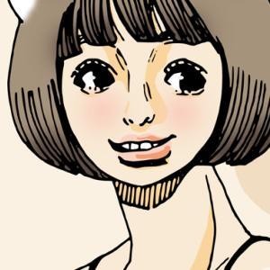 【女の子イラスト】フォトショップでアナログイラストを塗ってみました。