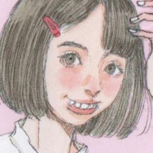 【女の子イラスト】ヘアピンの女の子イラスト