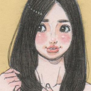 【女の子イラスト】ガーベラのミニスカート