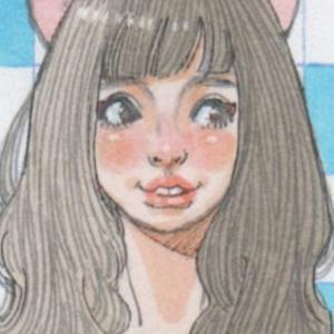 【女の子イラスト】夏っぽい服の猫耳の女の子「コピックで背景を描く」