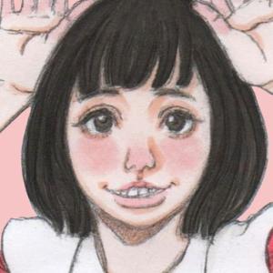 【女の子イラスト】コピックでメイド(メイド服)のアナログイラストを描いてみた