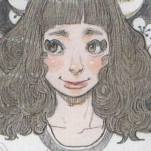 福を呼ぶフクロウと女の子のコピックイラストを描いてみた