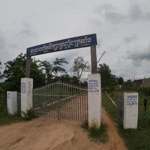 カンボジア1人旅③ 学校訪問4