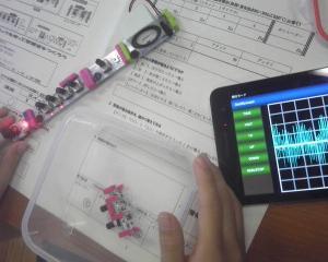 小平町立小平小学校に出前授業「リズム遊び」と「プログラミング」
