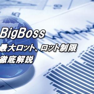 BigBossの最大ロットは?ロット制限や最大ポジションを解説