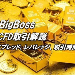 BigBossのCFD取引まとめ【取引時間、レバレッジ、スプレッド】