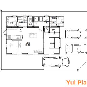 間取りまとめ0722① 32坪4LDK+納戸 ピアノがある家