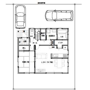 間取りまとめ0726① 33坪4LDK+納戸 将来の同居を考えた家