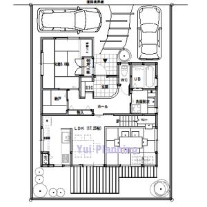 間取りまとめ0726② 33坪4LDK+納戸 将来の同居を考えた家
