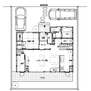 間取りまとめ0712② ペットと暮らす、収納を考えた家 32坪4LDK
