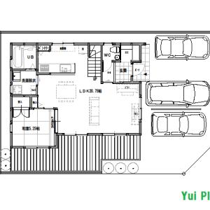 間取りまとめ0722② 32坪4LDK+納戸 ピアノがある家