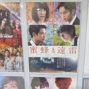 TOHO CINEMAS「蜜蜂と遠雷」(おいらせ町下田 イオンモール下田)  モコとココ