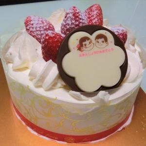 不二家「苺のショートケーキ」(八戸市江陽 ラピア)  モコとココ