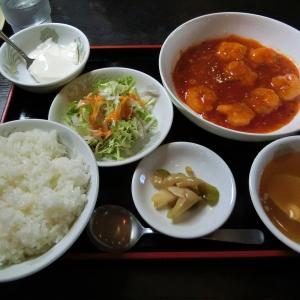 広州「乾焼蝦仁ランチ」(八戸市売市) モコとココ