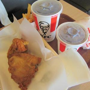 KFC「ケンタのランチ」(八戸市田面木)  モコとココ
