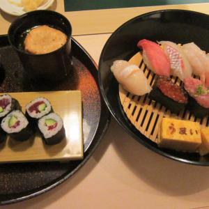 うまい鮨勘 ゆとろぎ「」(八戸市城下)  モコとココ