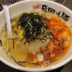 やまなか家 「のり冷麺」(八戸市田向)  モコとココ