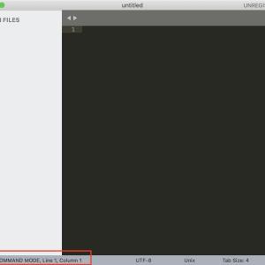 SublimeText3をVim化したら作業が爆速になった