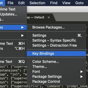 SublimeText3でbrタグ(改行)をショートカットで追加する