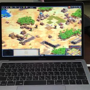 MacbookProに無料でWindows10をインストールして「Age of Empires II DE」をプレイする