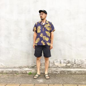 夏の定番のアロハシャツ