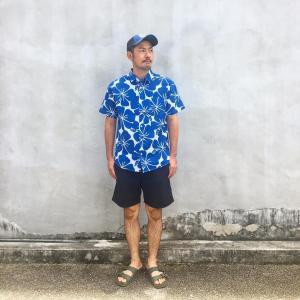 大人のパナマシャツ