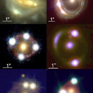 宇宙の年齢や構造を理解するうえで重要! 宇宙の膨張率は重力レンズ効果を観測することで高い精度の値が得られるようです