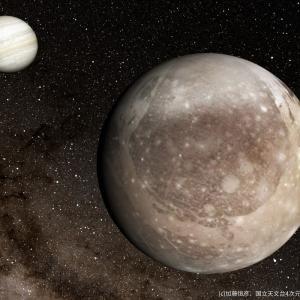 半径約7800キロ。太陽系最大の衝突クレーターは木星の衛星ガニメデにあった!