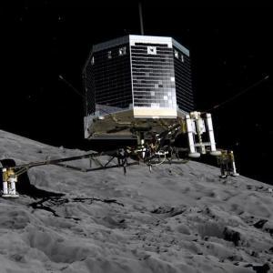 """彗星の氷はカプチーノの泡より柔らかい? 探査機""""フィラエ""""が彗星着陸に失敗して分かったこと"""