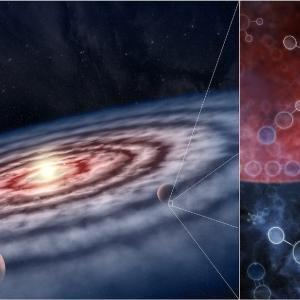 惑星がまさに作られつつある現場で分子がどのように分布しているのか? アルマ望遠鏡による惑星誕生現場の大規模観測