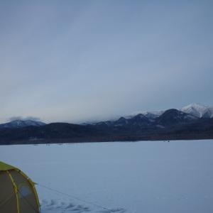 ワカサギ釣り第二弾:糠平湖