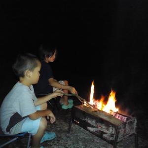 夏休み前半のファミリーキャンプ
