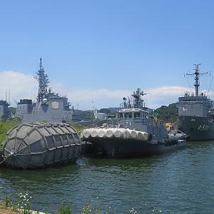 京都の府の旅「舞鶴・天橋立」②舞鶴港・自衛隊の軍艦見学
