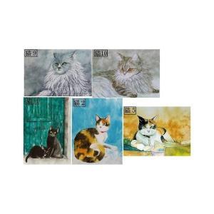 SOLDOUT・ポストカード」猫のポストカード5枚組お買い上げ頂きました。